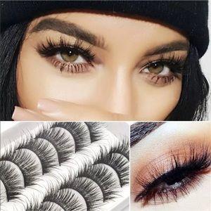 Other - 10 Pairs of 3D Glamorous Eyelashes